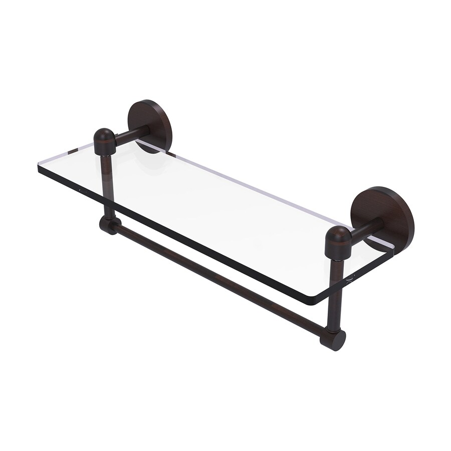 Allied Brass Tango 1-Tier Venetian Bronze Brass Bathroom Shelf