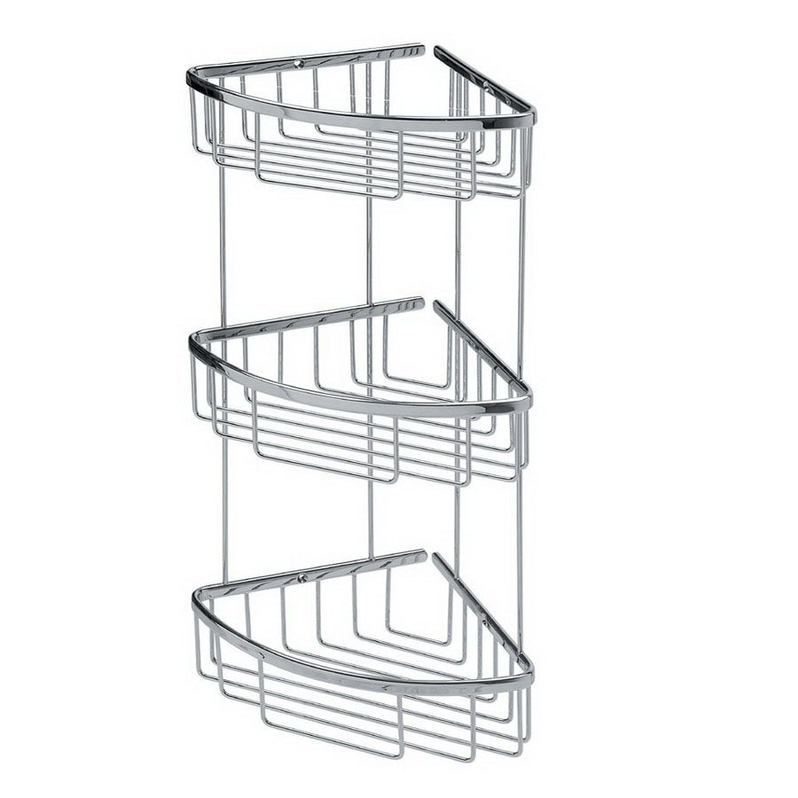 WS Bath Collections 20-1/8-in H Screw Mount Hanging Shower Caddy