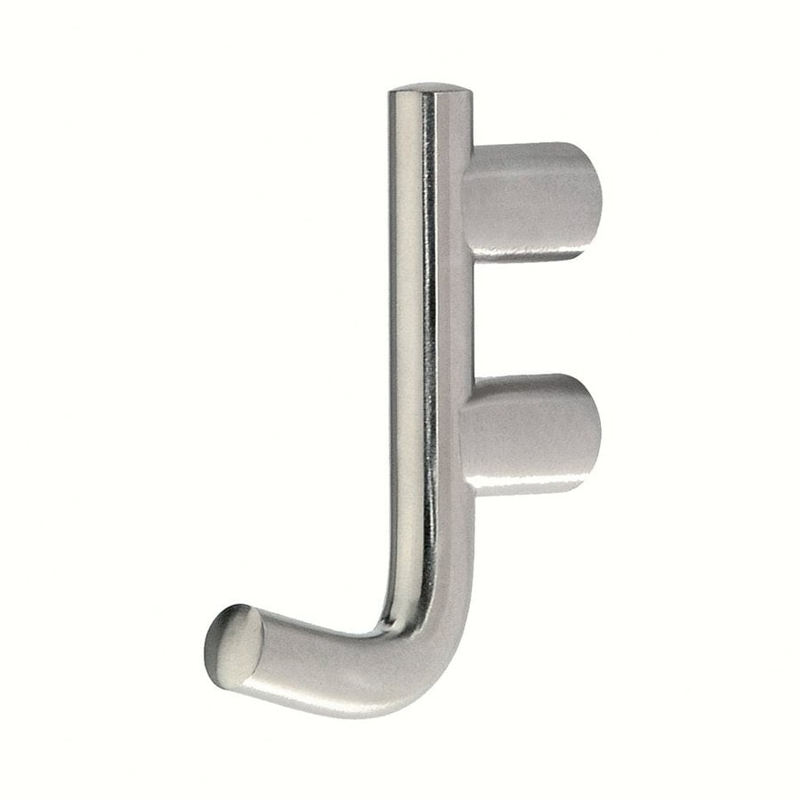 Siro Designs Fine Brushed Stainless Steel Garment Hook