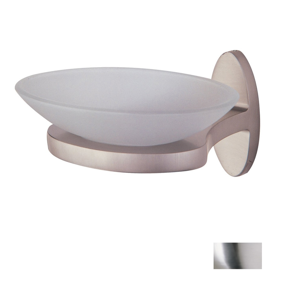 DVI Europa Buffed Nickel Metal Soap Dish
