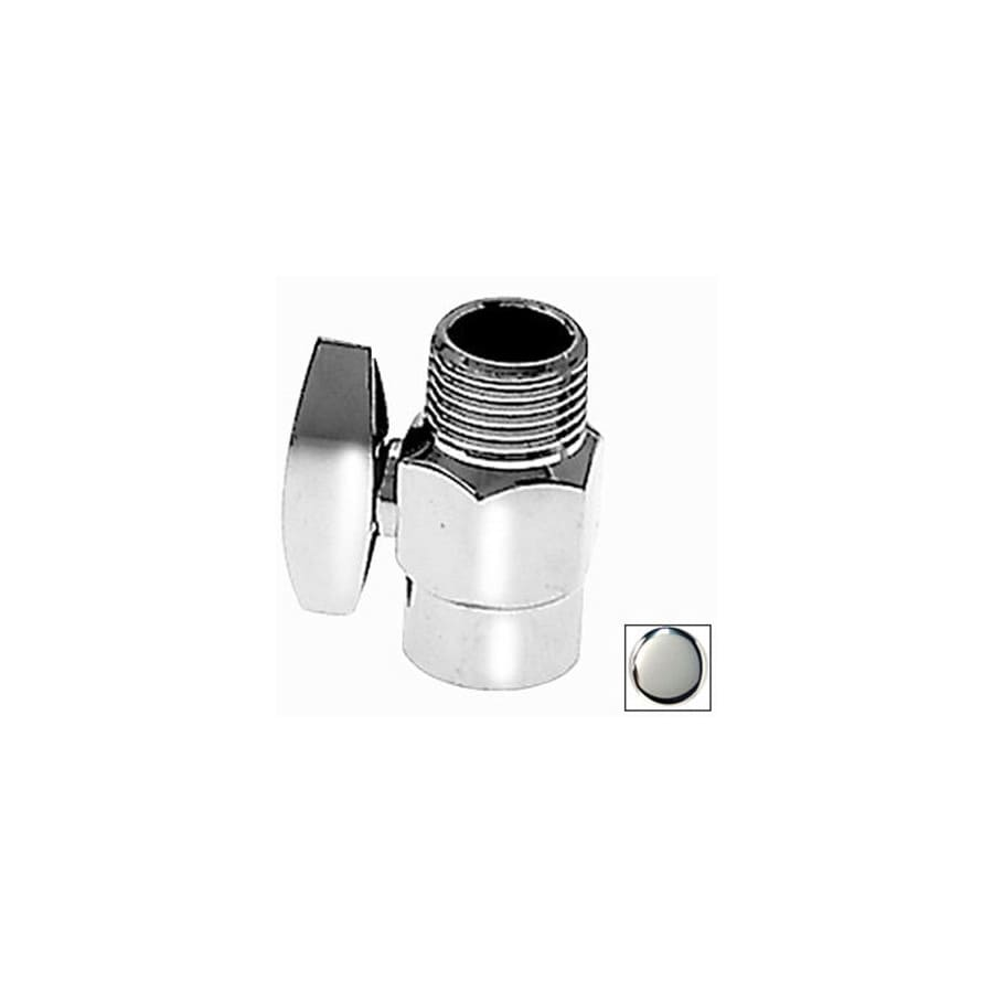 Westbrass Polished Chrome Shower Arm Volume Control Valve