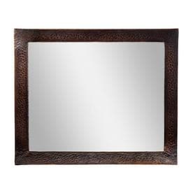 The Copper Factory Antique Polished Wall Mirror