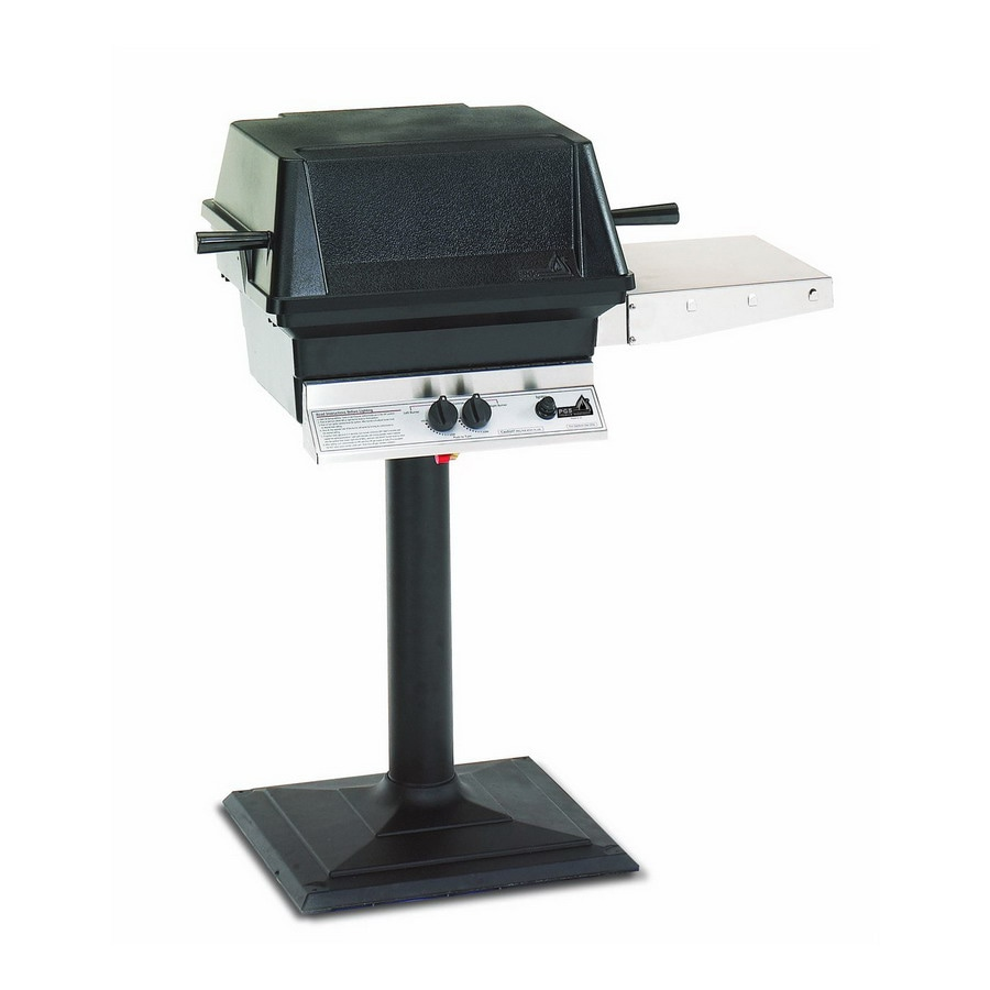 "PGS ""A"" Series Black 2-Burner (30,000-BTU) Liquid Propane Gas Grill"