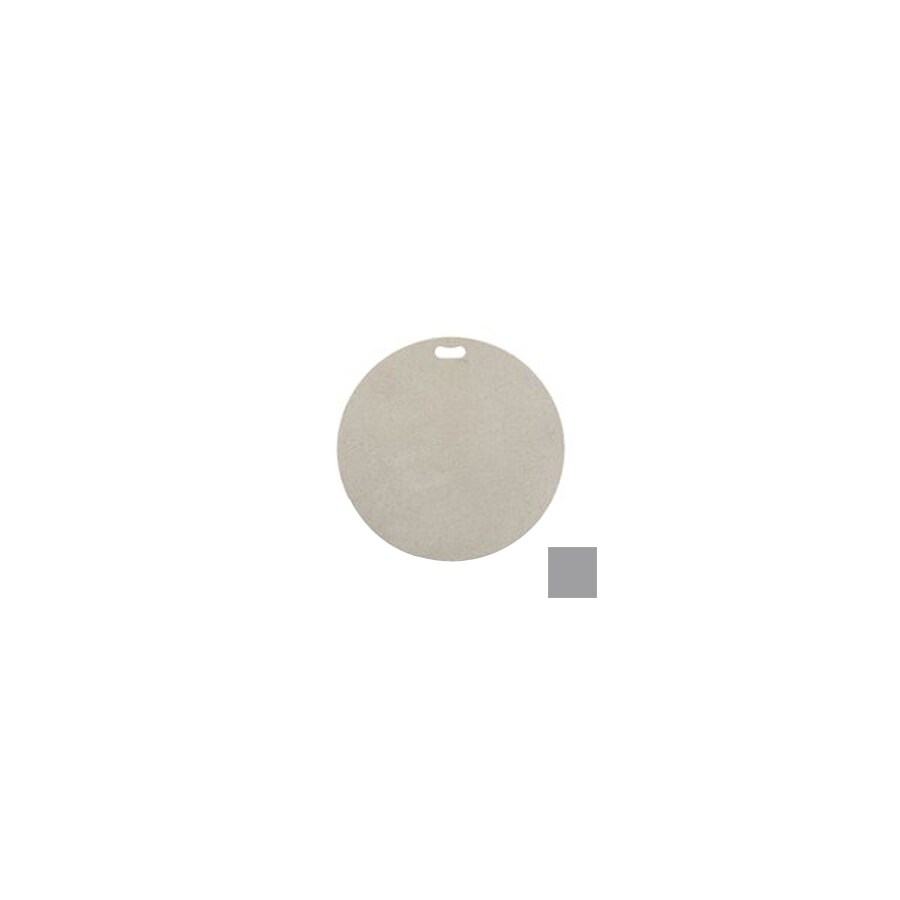 "The ""Original"" Grill Pad 30-in L x 30-in W Gray Fiber Cement Round Grill Mat"