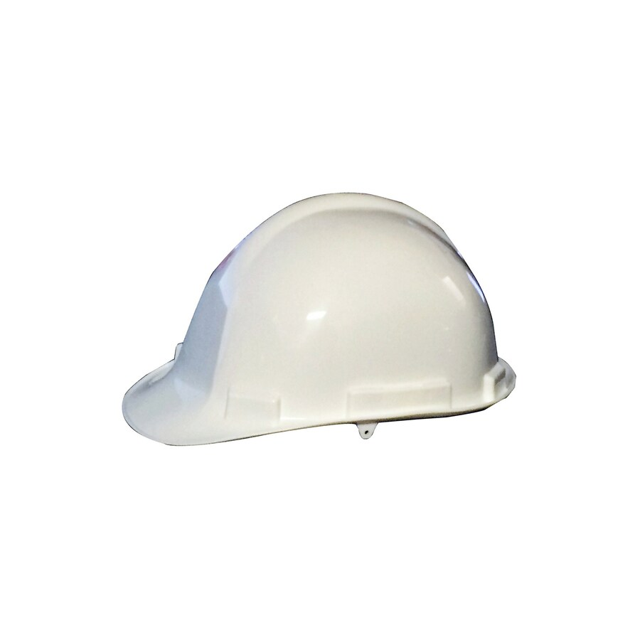 Morris Products Quick Adjusting Ratcheting White Hard Hat