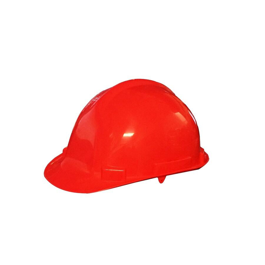 Morris Products Quick Adjusting Ratcheting Red Hard Hat