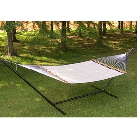 vivere 180 in l steel hammock stand shop hammocks  u0026 accessories at lowes    rh   lowes