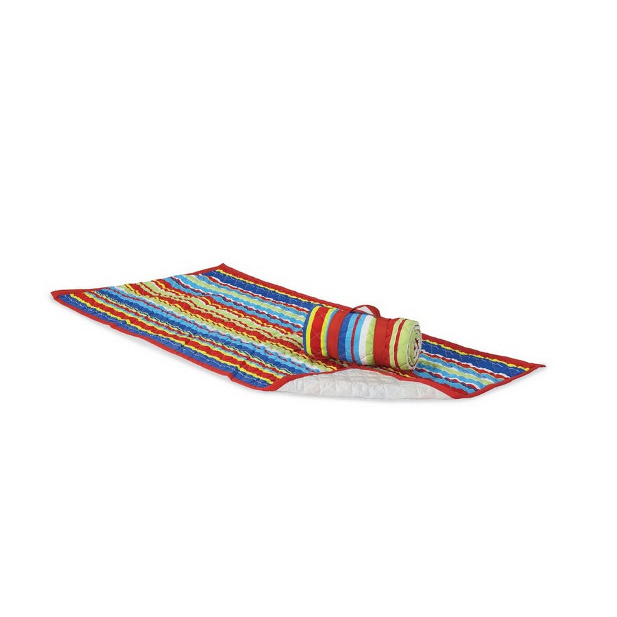 Twotree Multicolor Beach Mat and Carrier