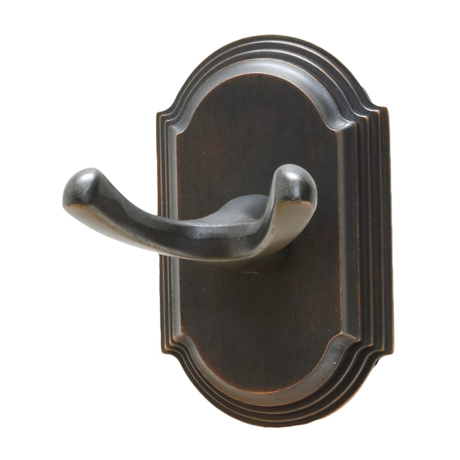 Residential Essentials Ridgeview 2-Hook Venetian Bronze Robe Hook