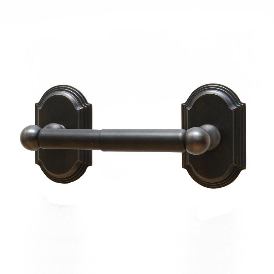 Residential Essentials Ridgeview Venetian Bronze Surface Mount Toilet Paper Holder