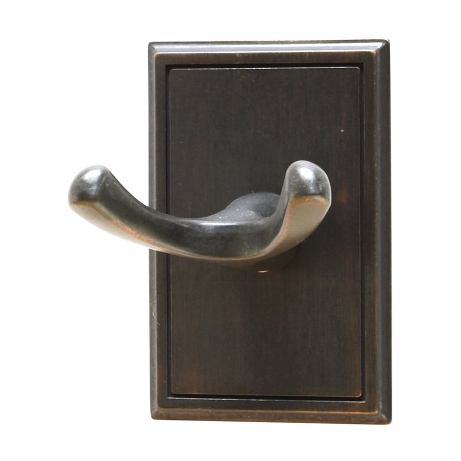 Residential Essentials Hamilton 2-Hook Venetian Bronze Robe Hook