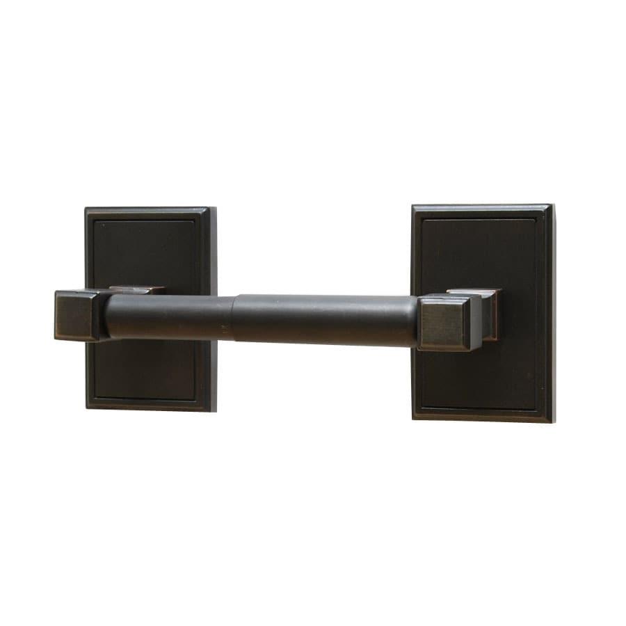Residential Essentials Hamilton Venetian Bronze Surface Mount Toilet Paper Holder