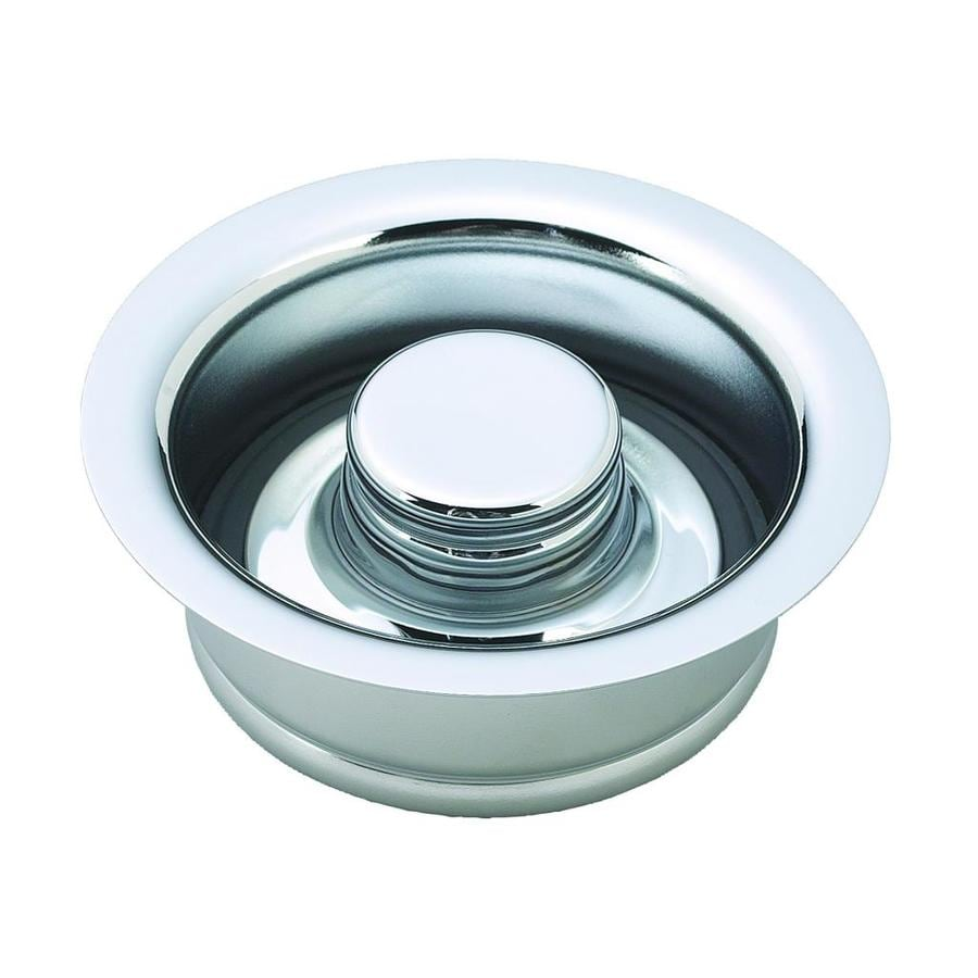 Westbrass In-Sink-Erator 4.5-in Polished Chrome Brass Garbage Disposal Sink Flange