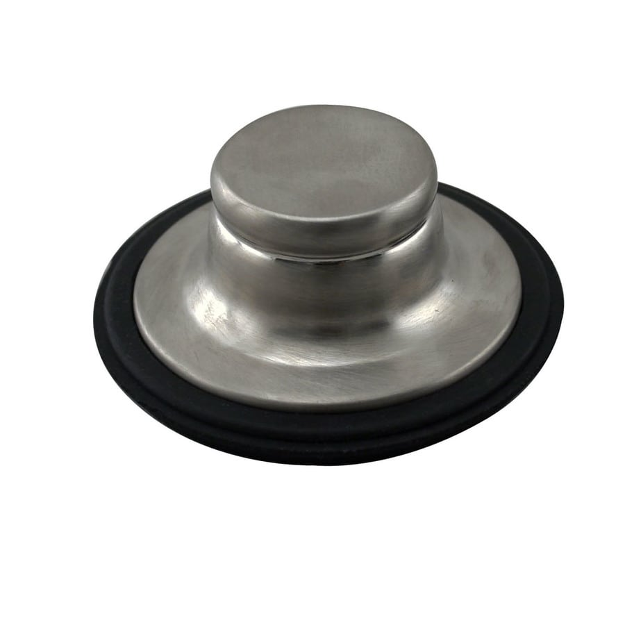 Westbrass In-Sink-Erator 3.25-in Satin Nickel Brass Garbage Disposal Stopper
