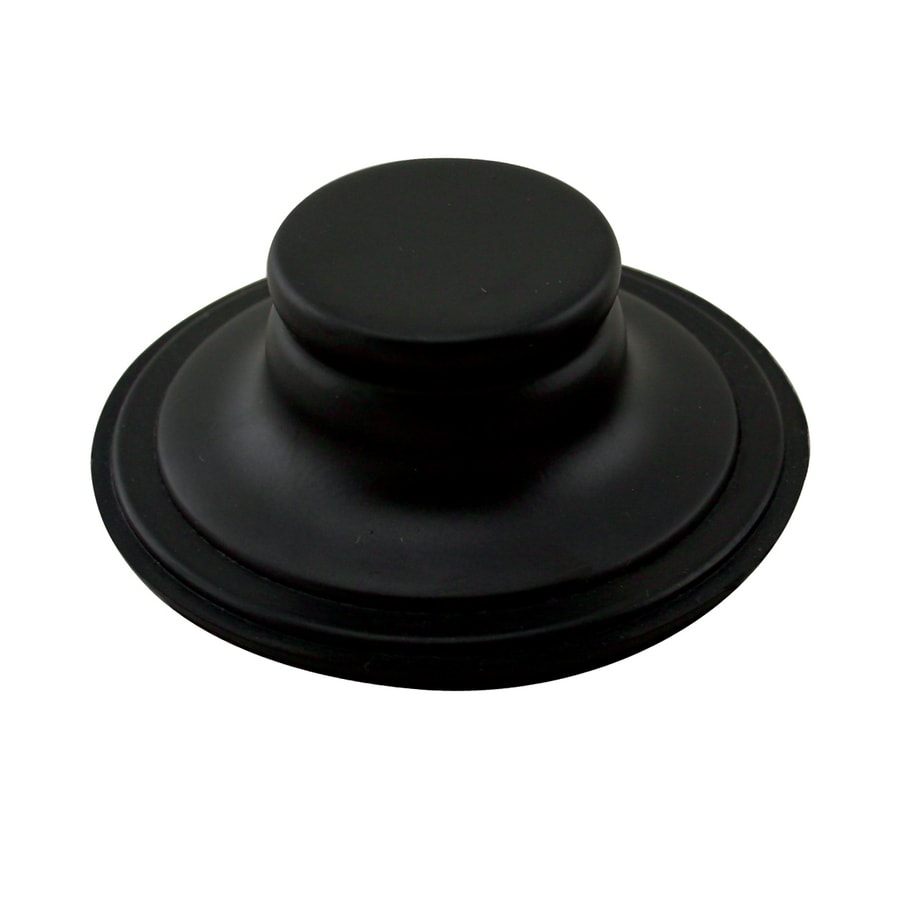 Westbrass Powder Coated Flat Black Garbage Disposal Stopper