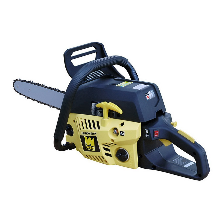 WEN 42.2cc 2-Cycle 16-in Gas Chain Saw