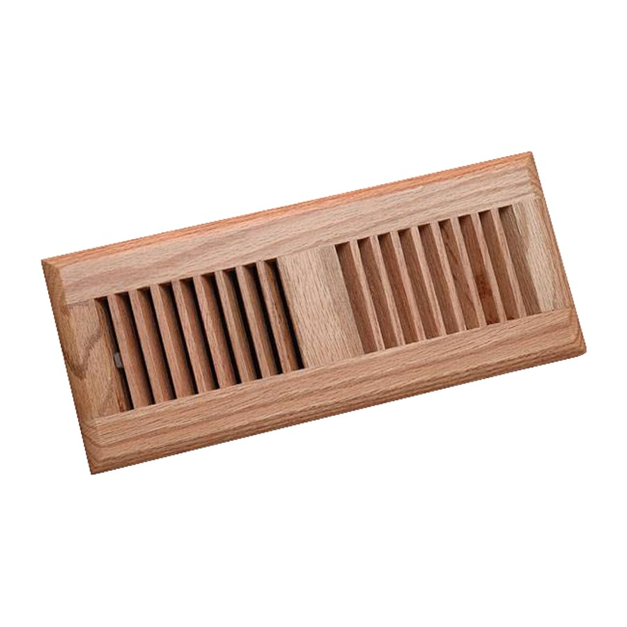 Shop Zoroufy Red Oak Floor Register Duct Opening 4 125