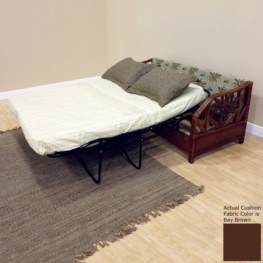 Hospitality Rattan Cancun Palm TC Antique Sofa Bed