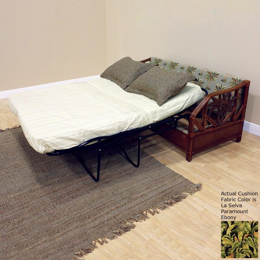 Hospitality Rattan Cancun Palm La Selva Paramount Ebony Sofa Bed