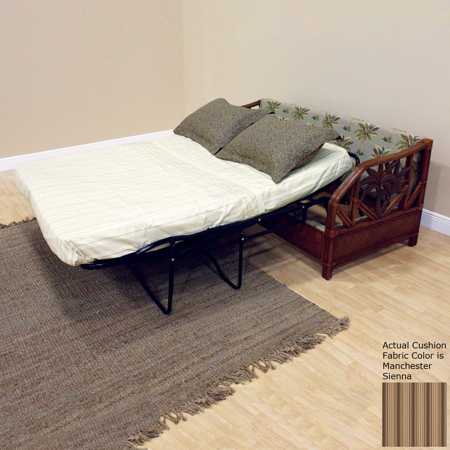 Hospitality Rattan Cancun Palm Manchester Sienna Sofa Bed