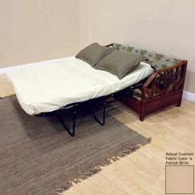 Hospitality Rattan Cancun Palm Patriot Birch Sofa Bed