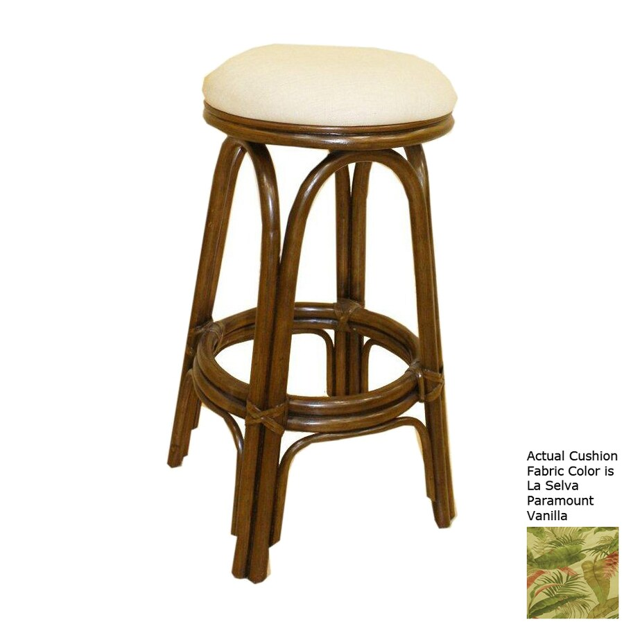 Hospitality Rattan Carmen Antique Counter Stool