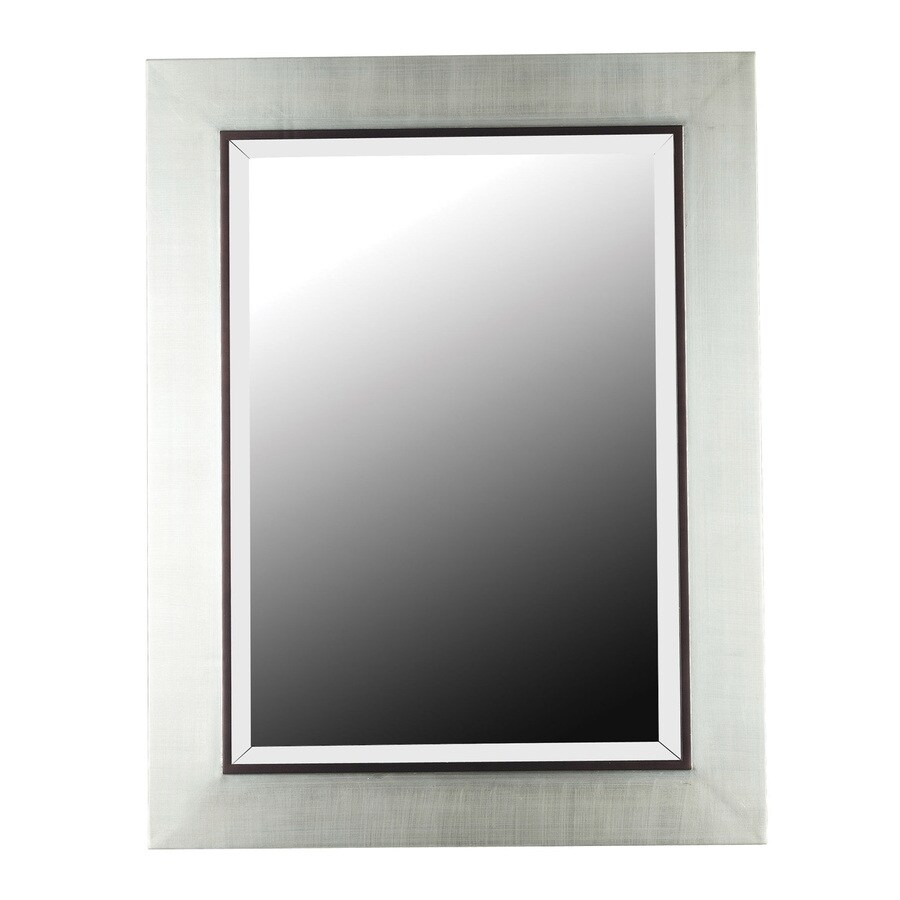 Shop kenroy home dolores silver beveled wall mirror at lowes kenroy home dolores silver beveled wall mirror amipublicfo Gallery