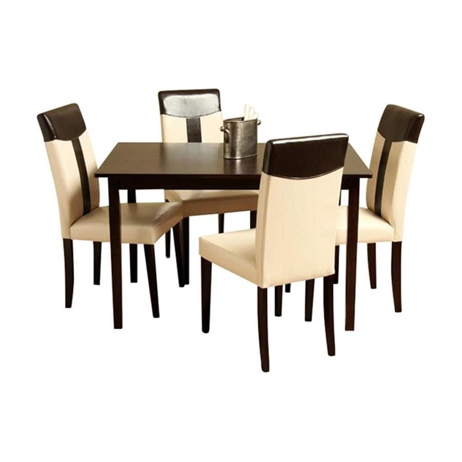 Warehouse of Tiffany Tiffany Espresso Dining Set
