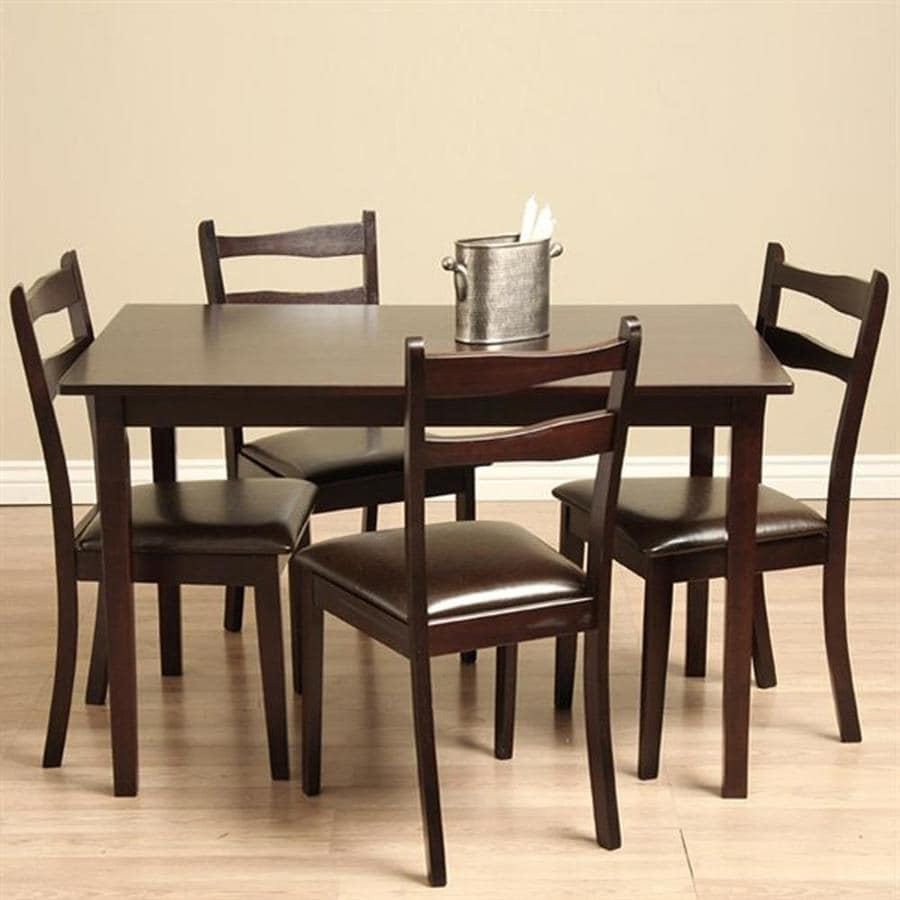 Warehouse of Tiffany Callan Cappuccino 1-Piece Dining Set with Dining Table