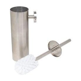 Sugatsune Satin Stainless Steel Toilet Brush Holder
