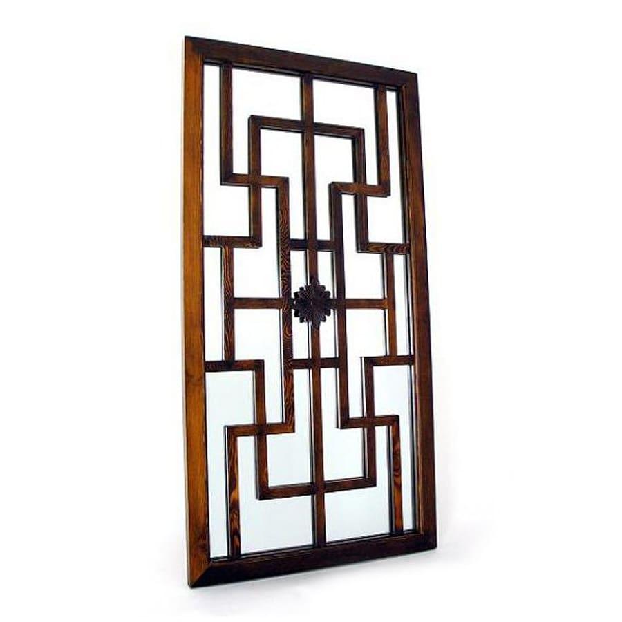 Wayborn Furniture Fukin Brown Wall Mirror