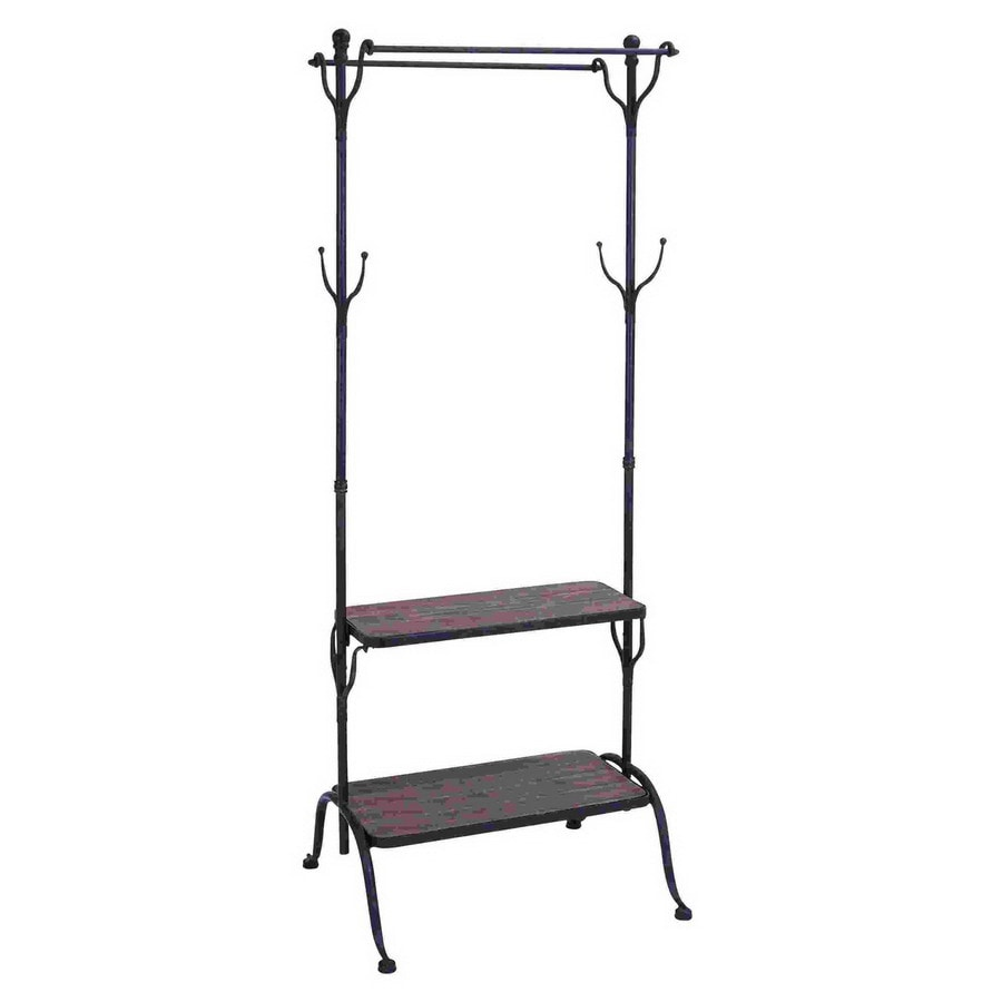 Woodland Imports 4-Hook Coat Stand