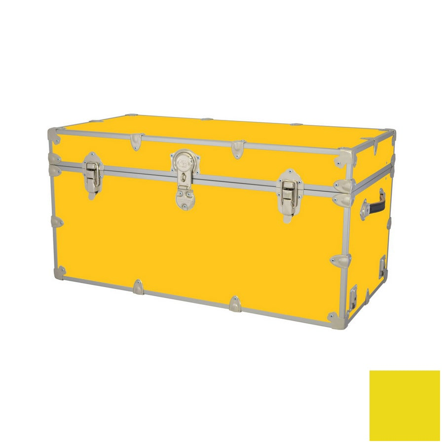 Phat Tommy Toy Box Yellow Rectangular Toy Box