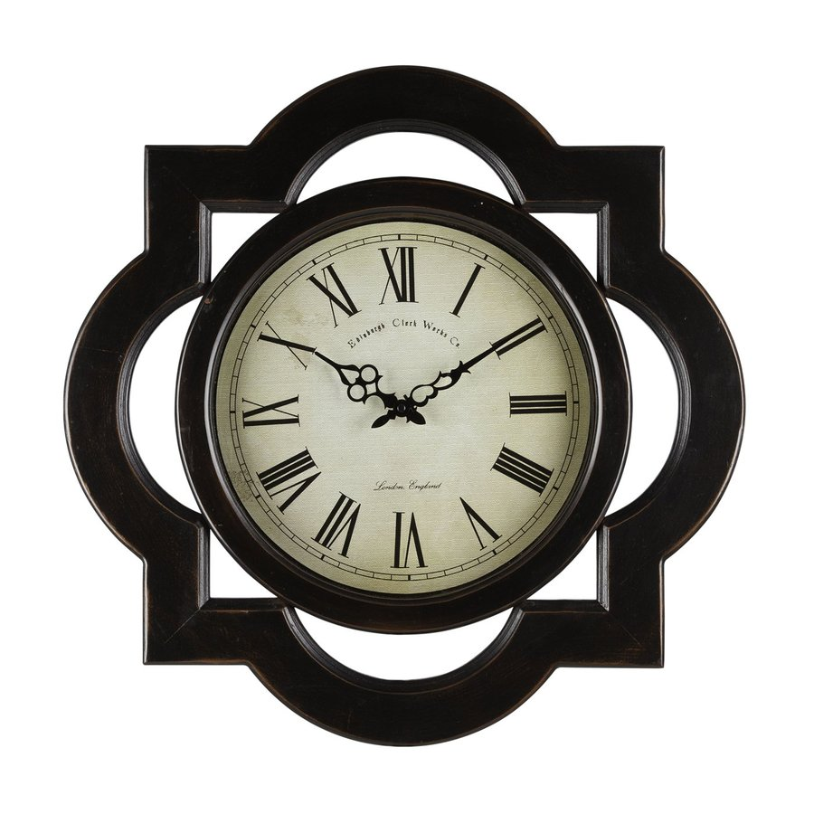 Cooper Classics Lindsey Analog Indoor Wall Standard Clock