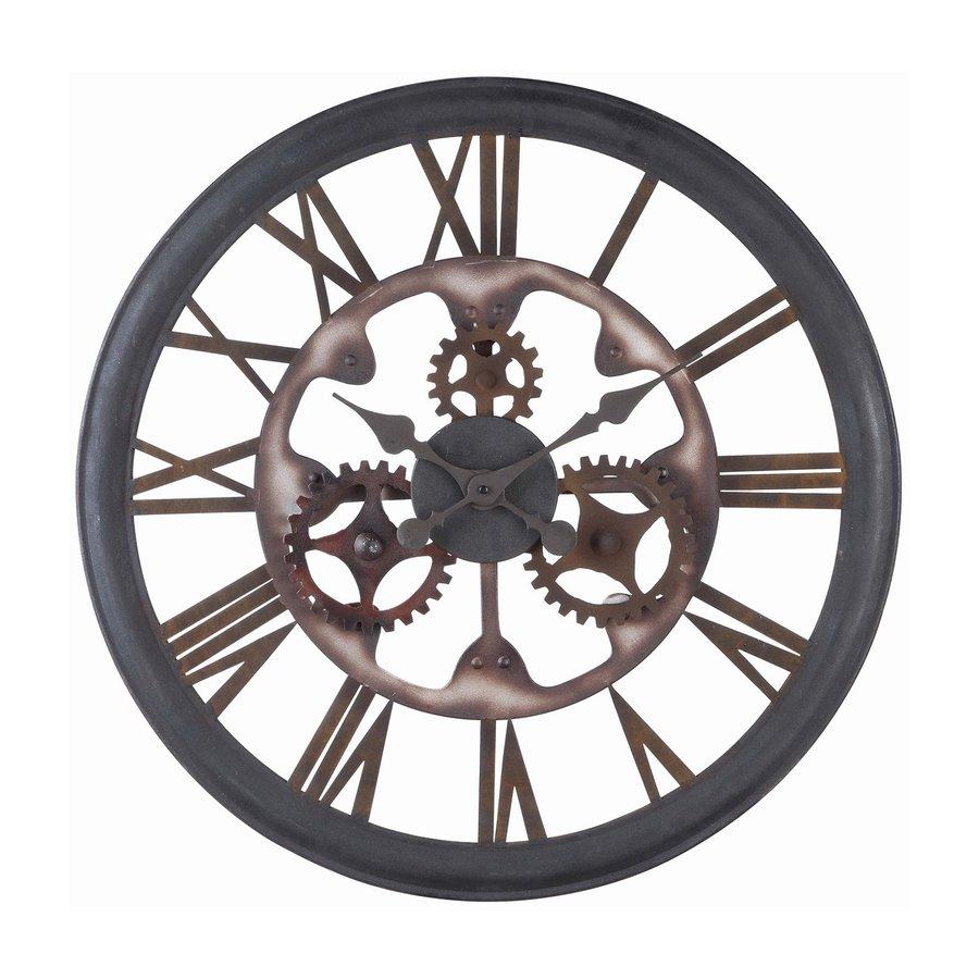 Cooper Classics Senna Analog Round Indoor Wall Standard Clock