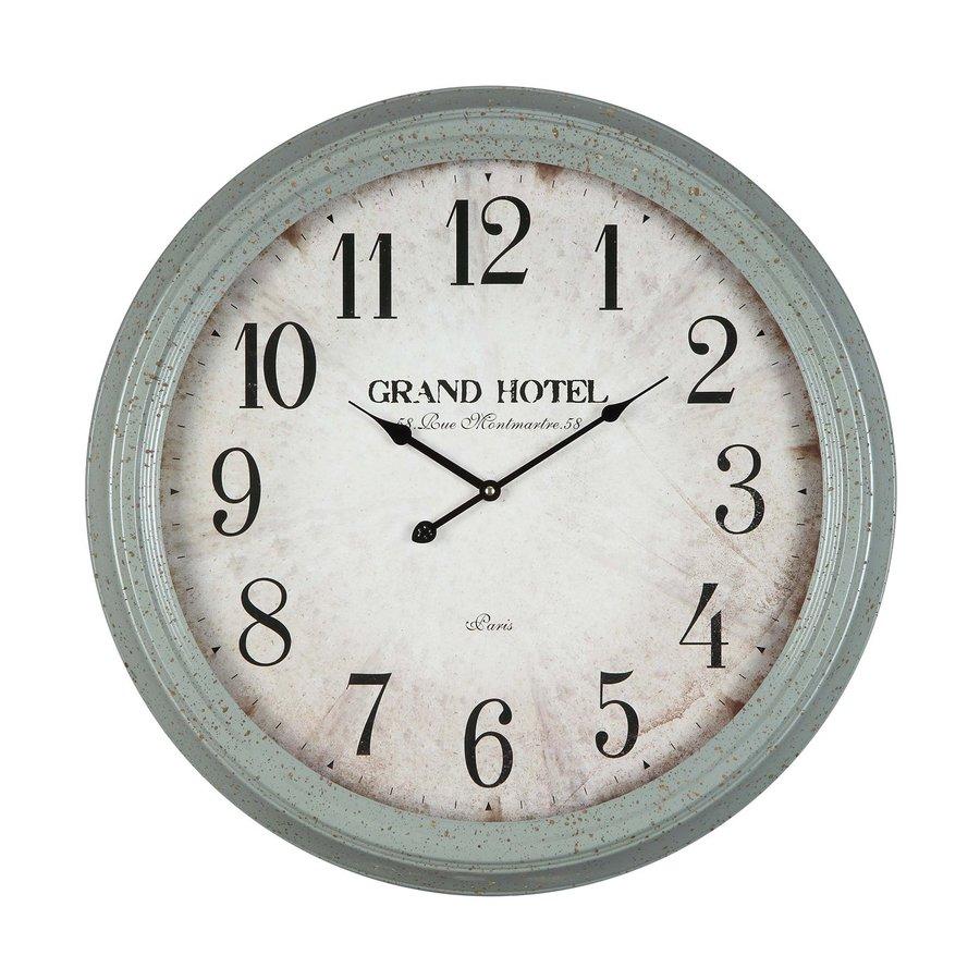 Cooper Classics Asher Analog Round Indoor Wall Standard Clock