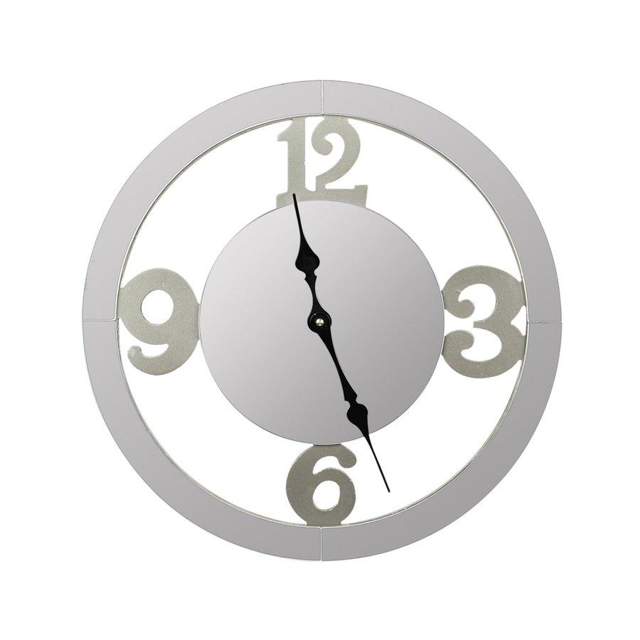 Cooper Classics Wells Analog Round Indoor Wall Standard Clock