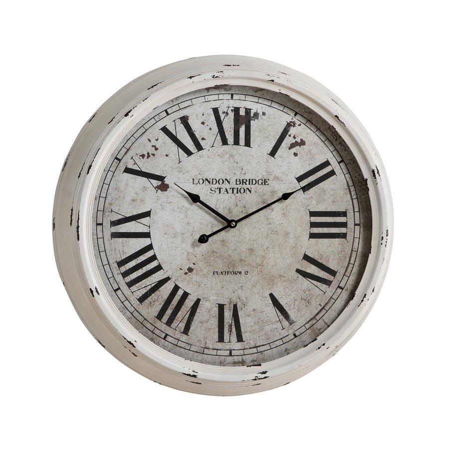 Cooper Classics Daria Analog Round Indoor Wall Standard Clock