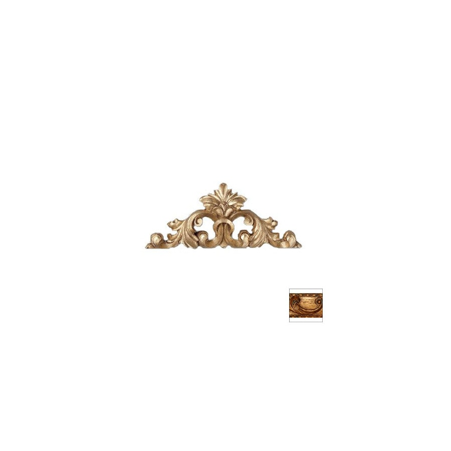 Hickory Manor House 18-in W x 8-in H Frameless Leaf Center Sculptural Wall Art