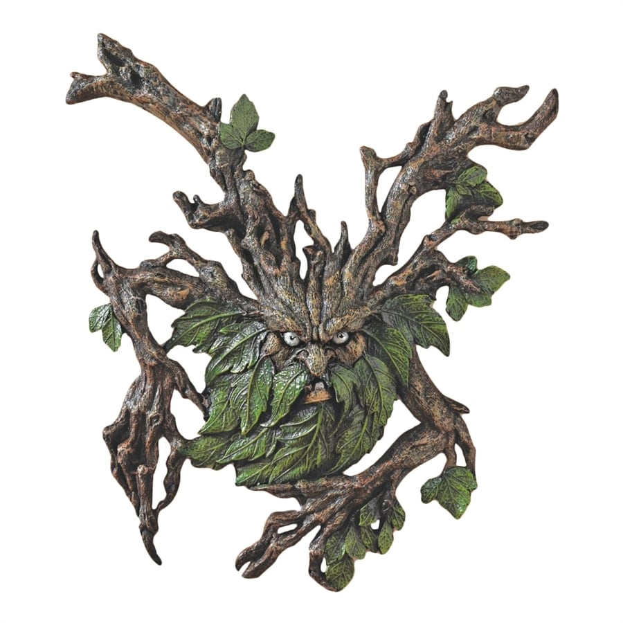 Design Toscano 13.5-in W x 15-in H Frameless Resin Crotchety Crank Tree Ent Sculpture Wall Art