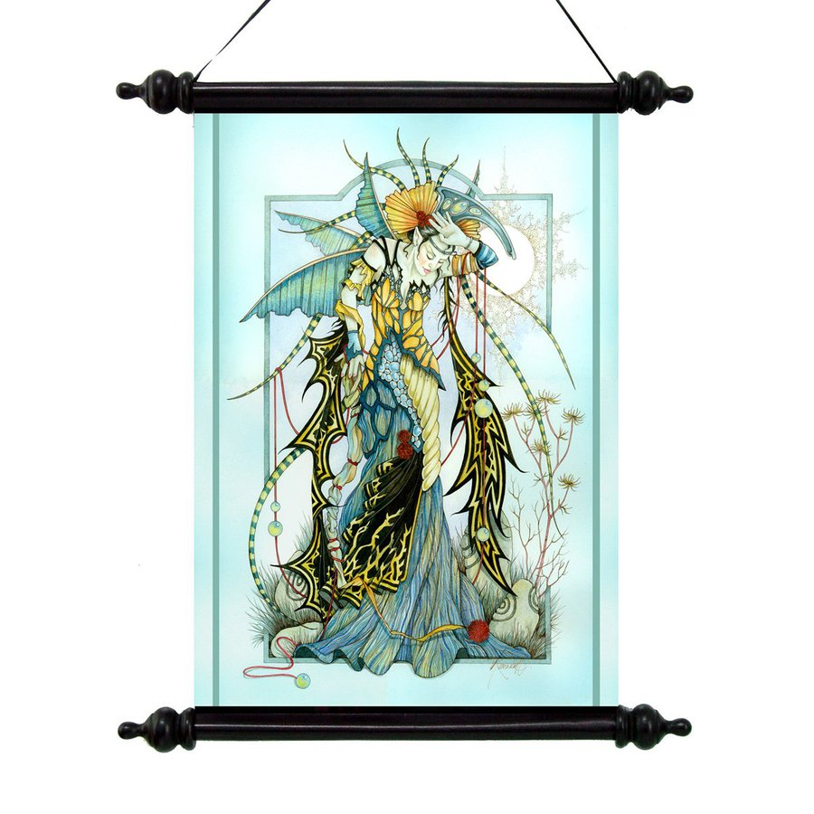 Design Toscano 16-in W x 20-in H Frameless Canvas Moonstone The Enchantress Print Wall Art