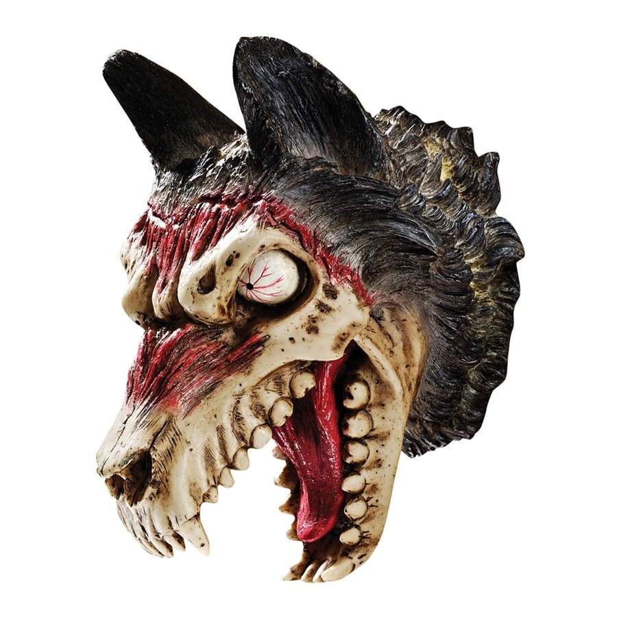 Design Toscano Werewolf Zombie Wall-Mounted Sculpture