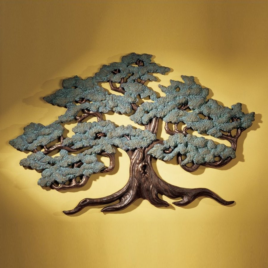 Design Toscano 37.5-in W x 23.5-in H Frameless Resin Ancient Tree Of Life Sculpture Wall Art
