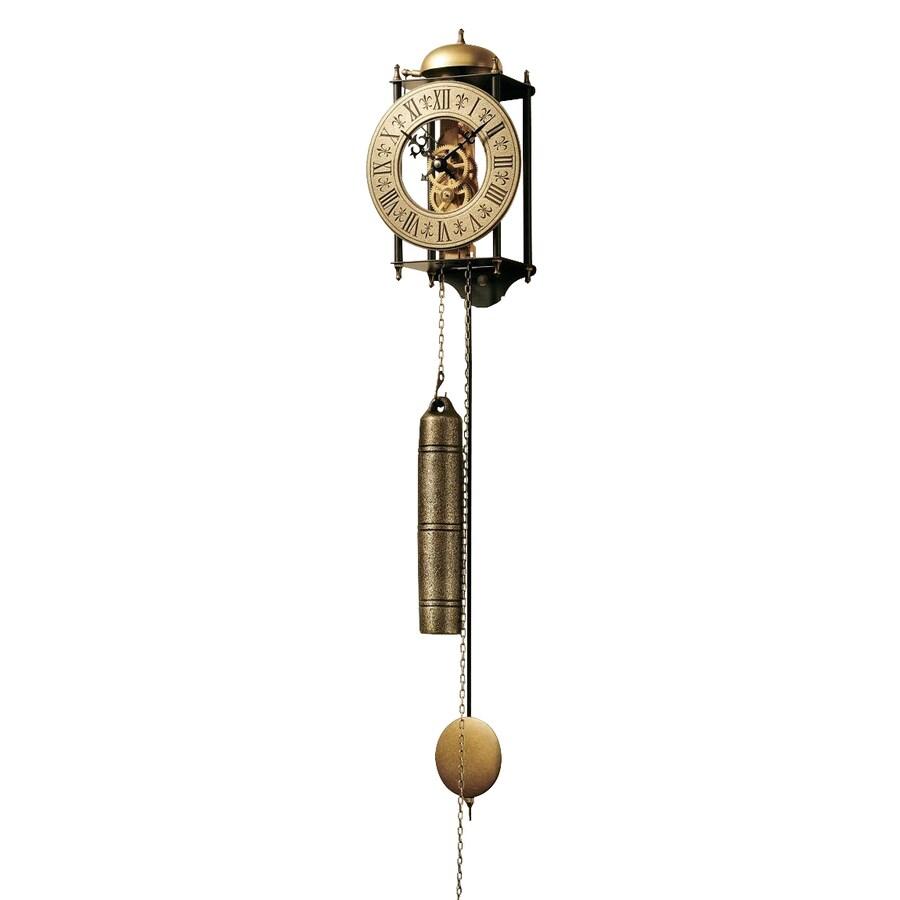 Design Toscano Templeton Regulator Analog Round Indoor Wall Clock