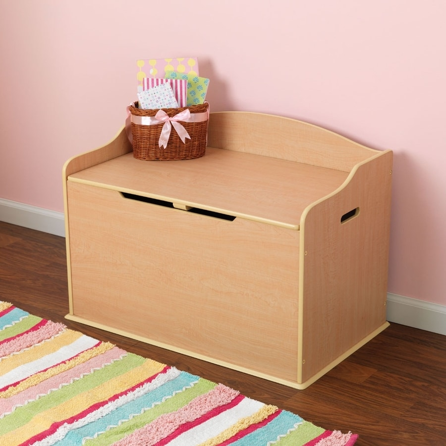 KidKraft Austin Natural Rectangular Toy Box