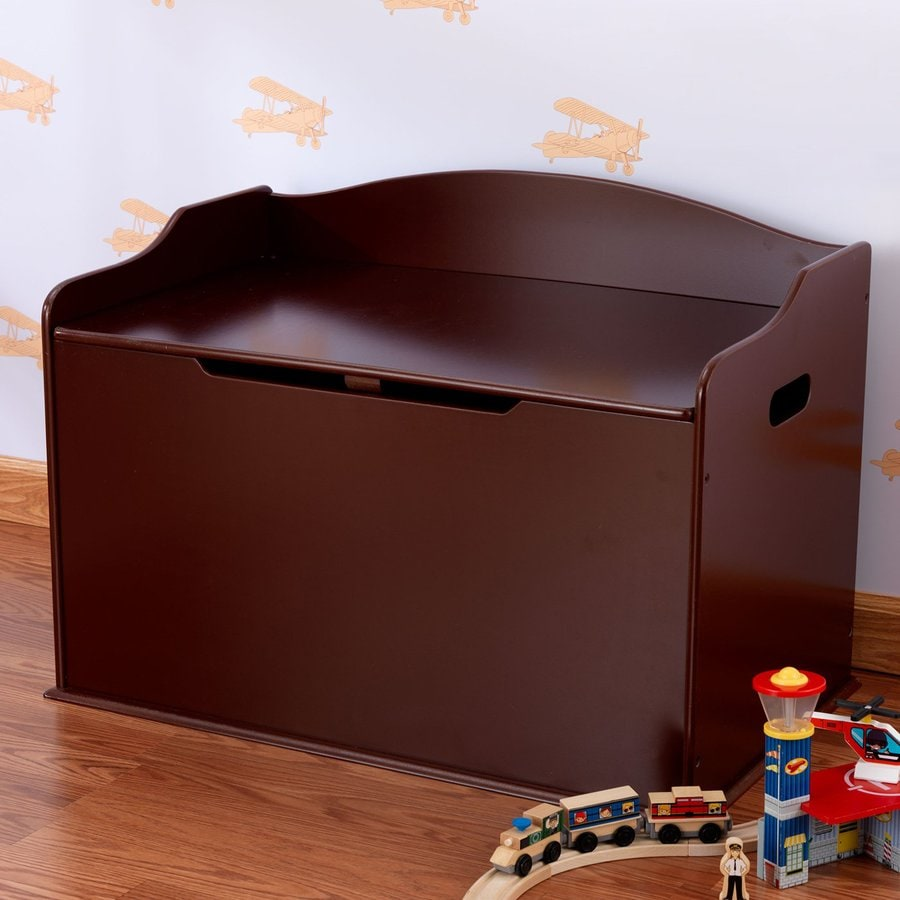 KidKraft Austin Cherry Rectangular Toy Box