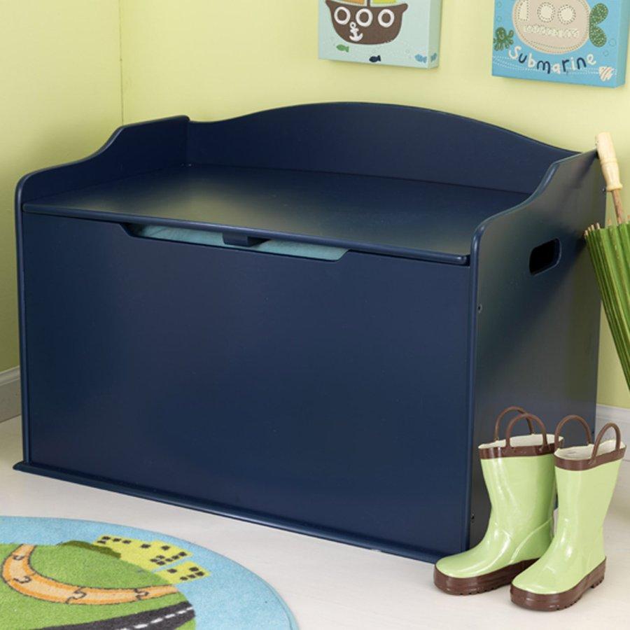 KidKraft Austin Blueberry Rectangular Toy Box
