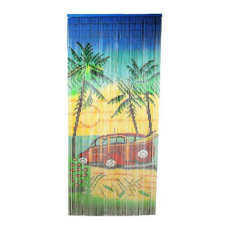 Bamboo 54 80-in L Window Sheer Curtain