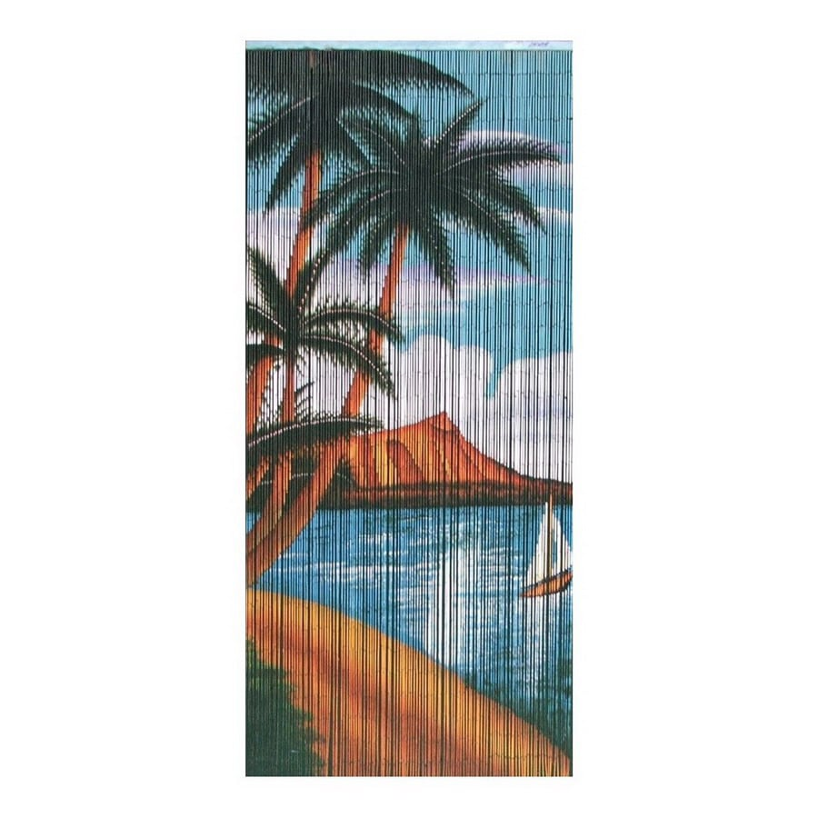 Shop Bamboo 54 Palm Beach Serenity 80 In Bamboo Semi Sheer
