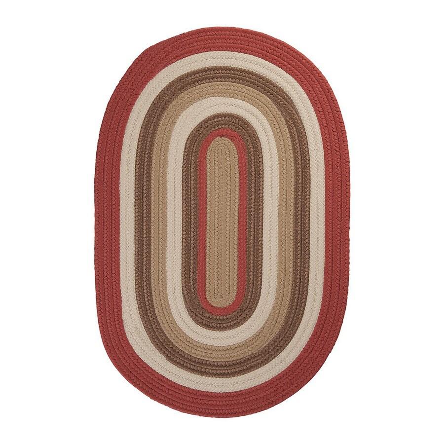 Colonial Mills Brooklyn Red Indoor/Outdoor Runner (Common: 2-ft x 10-ft; Actual: 24-in x 120-in)